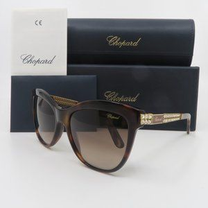 Chopard SCH 1895 0748 Tortoise Women's Sunglasses